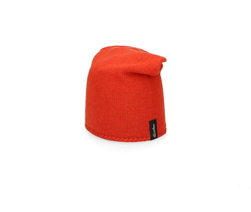Stocking stitch cashmere Beanie
