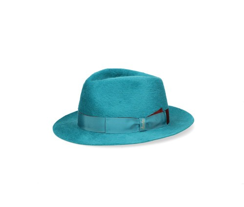 Small-brimmed Bi-colour Fedora