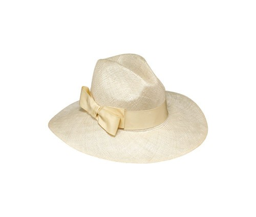 Parasisal hat with bow